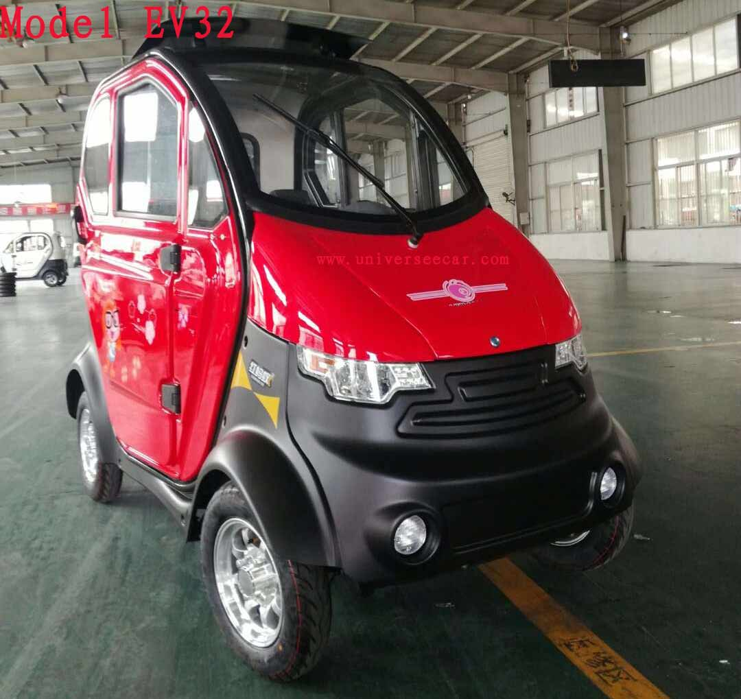 Kumi 4 Wheel High Quality Mini Kumi Sightseeing Cars China