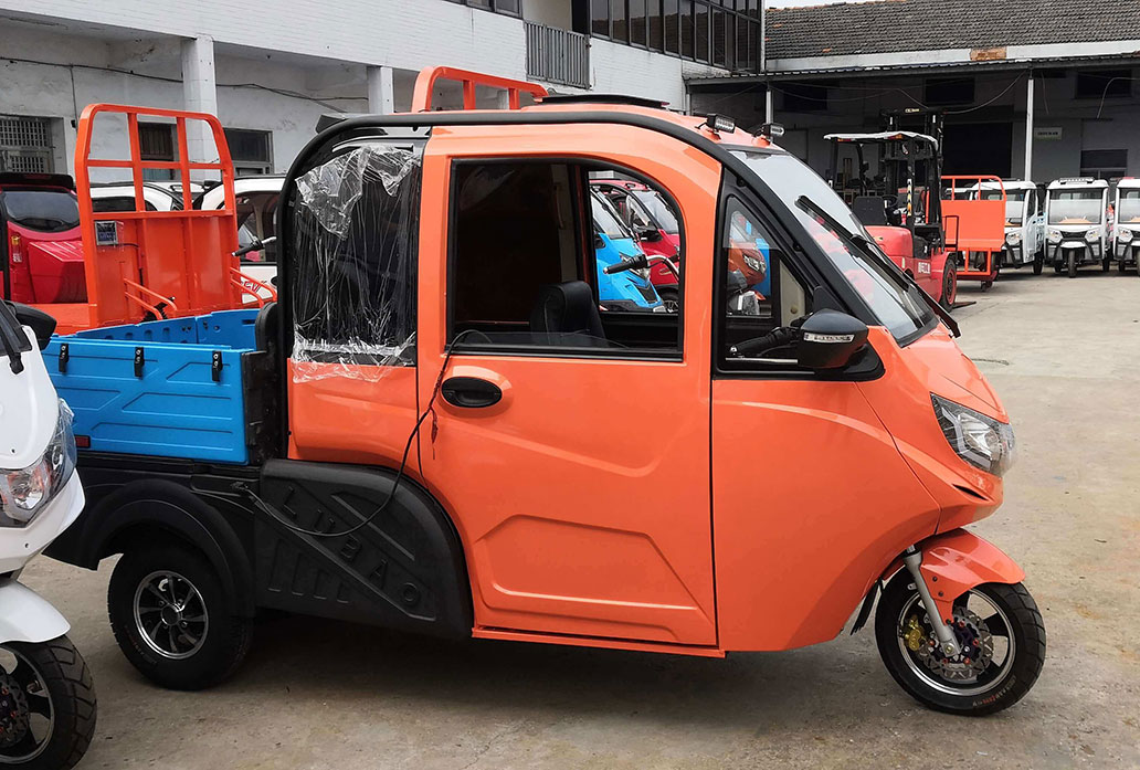 YUD005 electric pick up cargo tricycle for America adult