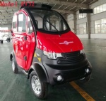 4 wheel High quality mini sightseeing cars china manufacture low speed electric cars vehicle