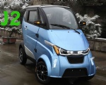 J2 mini ecar with EEC certificate and lithium battery sell at Germany