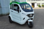 Full weather drive enclosed electric cabin trike with EEC for Danmark