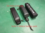 24V to 60V lithium battery pack with lock of 12A to 32A